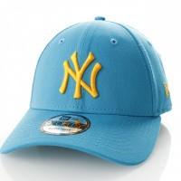 Afbeelding van New Era 9Forty SWBRGLD NEW YORK YANKEES 11841189 dad cap Sunwahblue/Butter MLB