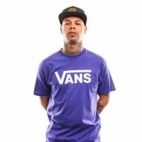 Afbeelding van Vans Vans Classic Vn000Gggrsv1 T Shirt Vans Purple