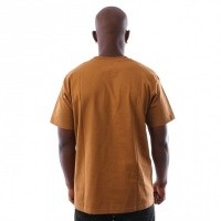 Afbeelding van Carhartt WIP S/S American Script T-Shirt I025711 T-Shirts Hamilton Brown