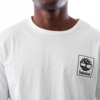 Afbeelding van Timberland SLS LS Seasonal logo tee TB0A1N8Z1001 Longsleeve White