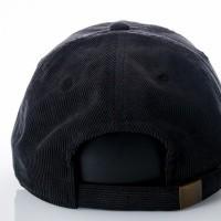 Afbeelding van Ethos Ethos Corduroy KBE-COR black KBE-COR dad cap black