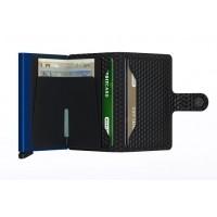 Afbeelding van Secrid M Wallet Miniwallet cubic Black/blue