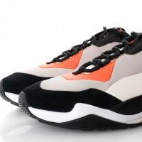 Afbeelding van Puma Thunder Nature 370703 Sneakers Nasturtium-Silver Gray-Whisper White