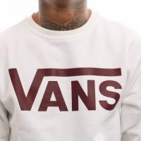 Afbeelding van Vans Vans Classic Crew V00YX0KJN Crewneck White/Port Royale