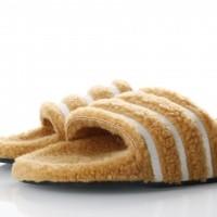 Afbeelding van Adidas Originals CQ2233 Slide sandal Adilette Bruin