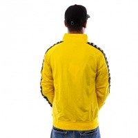 Afbeelding van Kappa Banda Anniston Slim 301EFU0 Trainingsjas Yellow Mustard-Black