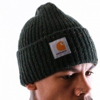 Afbeelding van Carhartt WIP Anglistic Beanie I013193 Muts Loden Heather