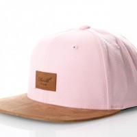 Reell Suede Cap 1402-038 Snapback Cap Light Pink