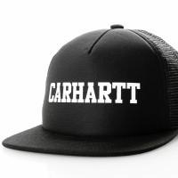 Carhartt WIP College Trucker Cap I025652 Trucker Cap Black / White