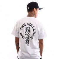 Afbeelding van Vans Otw Distort Ss VN0A3VZUWHT T shirt White