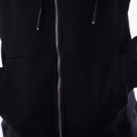 Afbeelding van In Gold We Trust IGWT Zipper Hoodie FAH-056 Hooded zip Black