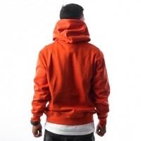 Afbeelding van Carhartt WIP Hooded Carhartt Sweatshirt I025479 Hooded Persimmon / Black