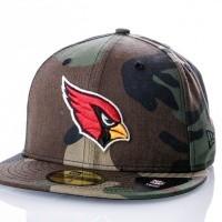 Afbeelding van New Era Essential Camo Color 59Fifty Arizona Cardinals 80636023 Fitted Cap Woodland Camo Retro