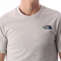 Afbeelding van The North Face T92TX5-CEJ T-shirt Simple dome Bruin
