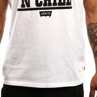 Afbeelding van Levi`s Graphic Set-In Neck 2 22491-0513 T shirt Peanuts Chill White