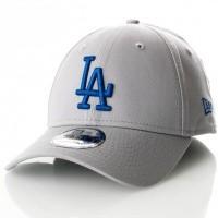 Afbeelding van New Era 9Forty Grabry Los Angeles Dodgers 11841191 Dad Cap Grey/Royal Mlb