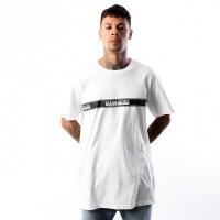 Afbeelding van Napapijri SAGAR N0YHUD002 T Shirt BRIGHT WHITE