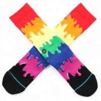 Afbeelding van Stance Drip Rainbow M558B19DRI Sokken Multi