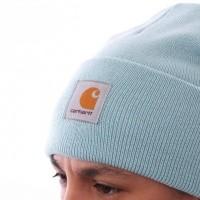 Afbeelding van Carhartt WIP Acrylic Watch Hat I020222 Muts Soft Aloe