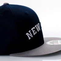 Afbeelding van Ethos New York KBN-500NY Navy/light grey KBN-500NY dad cap Navy/light grey