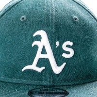 Afbeelding van New Era WASHED TEAM 9FIFTY OAKLAND ATHLETICS 80636091 Snapback cap OFFICAL TEAM COLOUR MLB