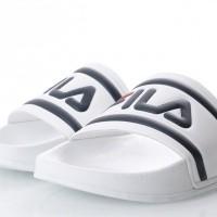 Afbeelding van Fila Ladies 1010340-1FG Slide sandal Morro bay Wit