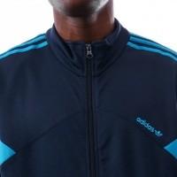 Afbeelding van Adidas Palmeston TrackTop OG DJ3459 jas COLLENAVY/BOLDAQUA