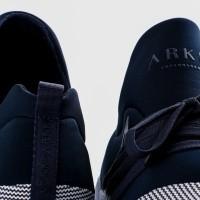 Afbeelding van Arkk Raven Mesh S-E15 Midnight White-M IL1401-0052-M Sneakers Midnight