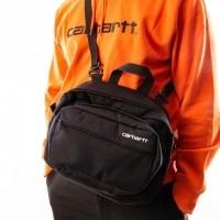Afbeelding van Carhartt WIP Payton Shoulder Bag I025414 Schoudertas Black / White