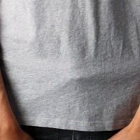 Afbeelding van Levi`s Graphic Set In Neck 2 T-Shirt 22491-0425 Levi`s Logo Midtone Htr Grey