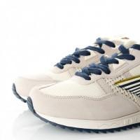 Afbeelding van Hi-Tec BW 146 S010002/011 Sneakers Off White/Navy/Gold