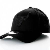 Afbeelding van New Era 9Forty Snapback 11871669 Dad Cap Black/Black Nba Chicago Bulls