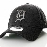 Afbeelding van New Era Jersey Essential 9Forty Detroit Tigers 80636063 Dadcap Graphite/Graphite Mlb