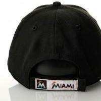 Afbeelding van New Era Mlb The League Miami Marlins 10489619 Dad Cap Official Team Colour Mlb