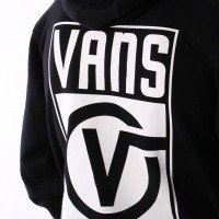Afbeelding van Vans VA3H99-BLK Hooded Vans worldwide Zwart