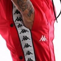 Afbeelding van Kappa 222 Banda Astoria Snaps Slim 303KUE0-C51 Trainingsbroek Red -Black-White