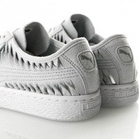 Afbeelding van Puma Ladies 365471-01 Sneakers Suede entwine Grijs