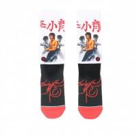 Afbeelding van Stance BRUCE LEE M545D18BRU sokken WHITE