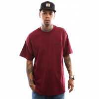 Carhartt WIP S/S Script Embroidery T-Shirt I025778 T shirt Mulberry / Black