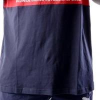 Afbeelding van Puma Graphic Logi Block Tee 577126 T-Shirt Blue-Red