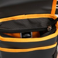 Afbeelding van The North Face Bardu Bag T0AVAQV7V Schoudertas Asphalt Gr/Zinnia Orange