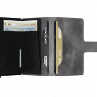 Afbeelding van Secrid MV-GREY/BLACK Wallet Miniwallet vintage Grey-Black