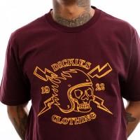 Afbeelding van Dickies Poplar Ridge 06 210635 T Shirt Maroon