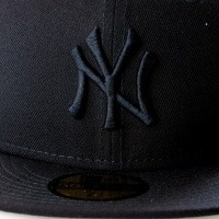 Afbeelding van New Era League Essential 5950 New York Yankees 11794691 Fitted Cap Navy Mlb