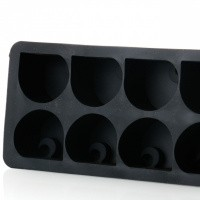 Afbeelding van Carhartt Wip C Logo Ice Cube Tray I026757 Ijsblokjesvorm Black
