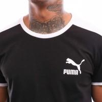 Afbeelding van Puma Iconic T7 Tee 577979 T Shirt Cotton Black