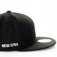 Afbeelding van New Era Ne Side 59Fifty 11871367 Fitted Cap Black/Optic White