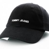 Tommy Hilfiger Tju Sport Cap Au0Au00584 Dad Cap Black