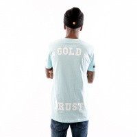 Afbeelding van In Gold We Trust Logo Tee Fa-069 T Shirt Baby Blue