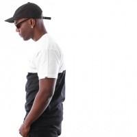Afbeelding van Vans COLORBLOCK TEE VA3CZDYB2 t-shirt WHITE-BLACK